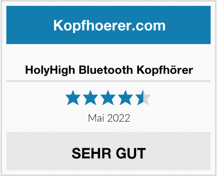 No Name HolyHigh Bluetooth Kopfhörer Test