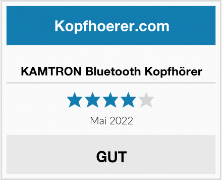 No Name KAMTRON Bluetooth Kopfhörer Test