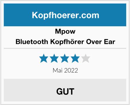 Mpow Bluetooth Kopfhörer Over Ear Test