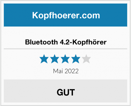 No Name Bluetooth 4.2-Kopfhörer Test