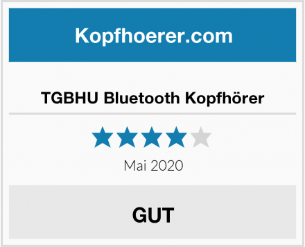 No Name TGBHU Bluetooth Kopfhörer Test