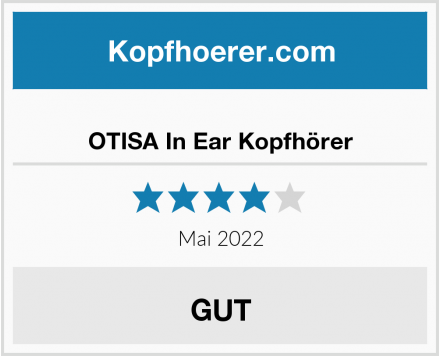 No Name OTISA In Ear Kopfhörer Test
