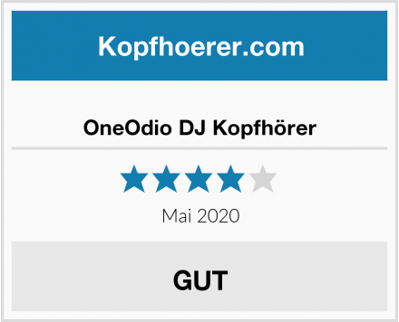 OneOdio DJ Kopfhörer Test