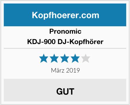 Pronomic KDJ-900 DJ-Kopfhörer Test