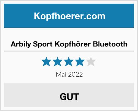 Arbily Sport Kopfhörer Bluetooth Test