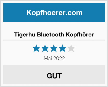 Tigerhu Bluetooth Kopfhörer Test
