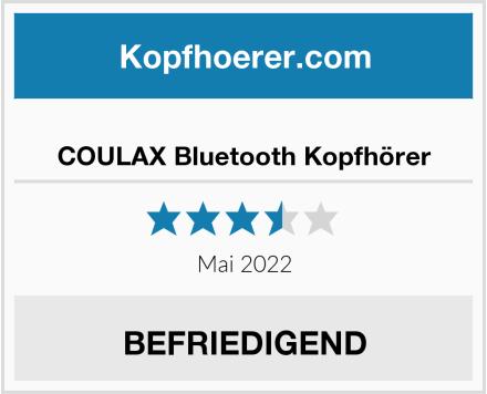 COULAX Bluetooth Kopfhörer Test