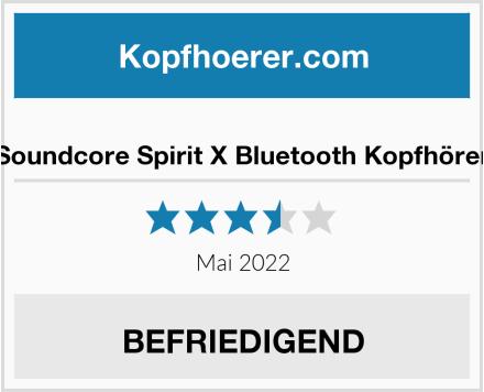 No Name Soundcore Spirit X Bluetooth Kopfhörer Test