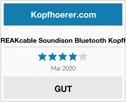No Name UNBREAKcable Soundison Bluetooth Kopfhörer Test