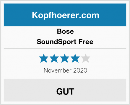 Bose SoundSport Free Test