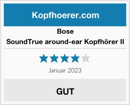 Bose SoundTrue around-ear Kopfhörer II Test