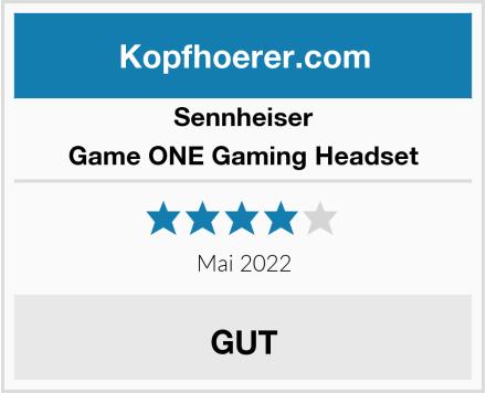 Sennheiser Game ONE Gaming Headset Test