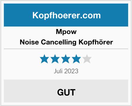 Mpow Noise Cancelling Kopfhörer Test