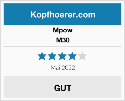 Mpow M30 Test