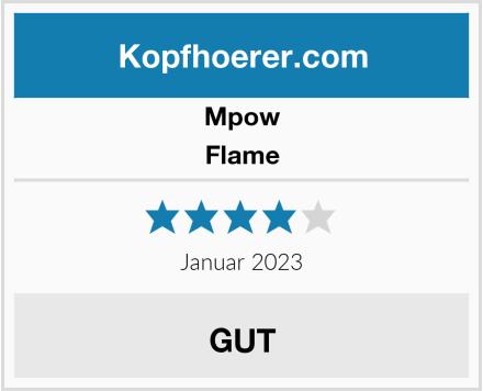 Mpow Flame Test