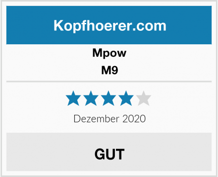 Mpow M9 Test