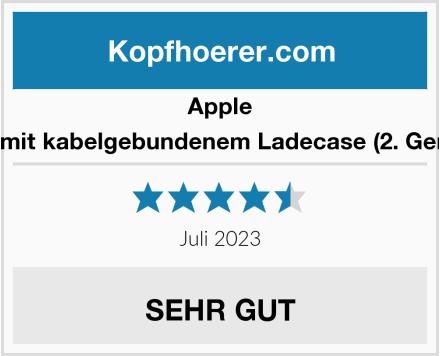 Apple AirPods mit kabelgebundenem Ladecase (2. Generation) Test