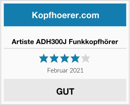 Artiste ADH300J Funkkopfhörer Test
