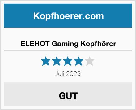 ELEHOT Gaming Kopfhörer Test