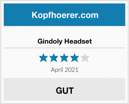 Gindoly Headset Test