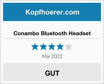 Conambo Bluetooth Headset Test