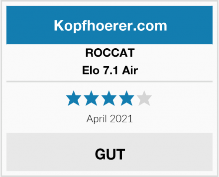 ROCCAT Elo 7.1 Air Test