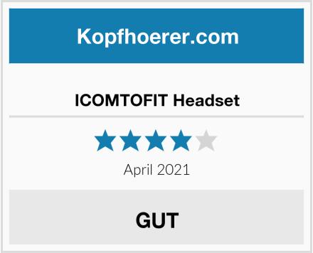 ICOMTOFIT Headset Test