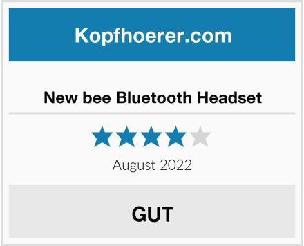 New bee Bluetooth Headset Test