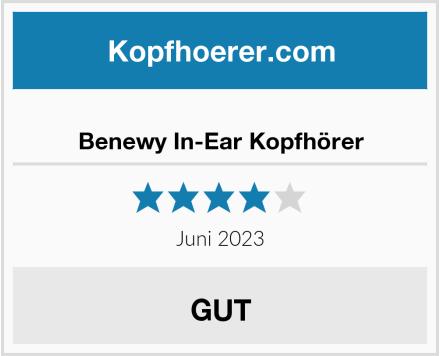 Benewy In-Ear Kopfhörer Test