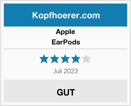 Apple EarPods Test
