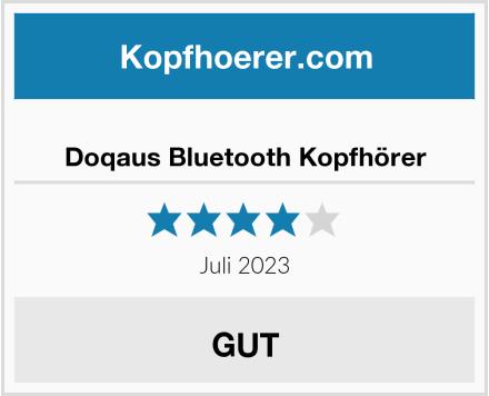 Doqaus Bluetooth Kopfhörer Test