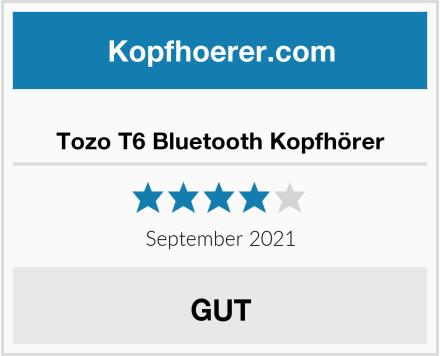 Tozo T6 Bluetooth Kopfhörer Test