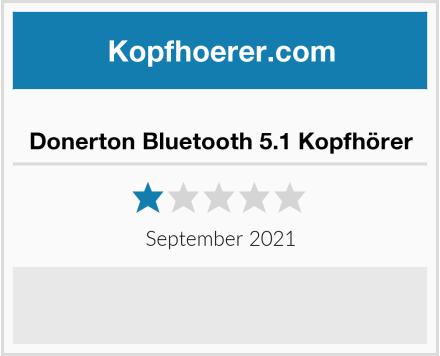 Donerton Bluetooth 5.1 Kopfhörer Test