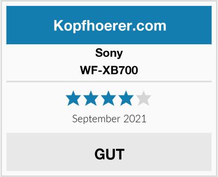 Sony WF-XB700 Test