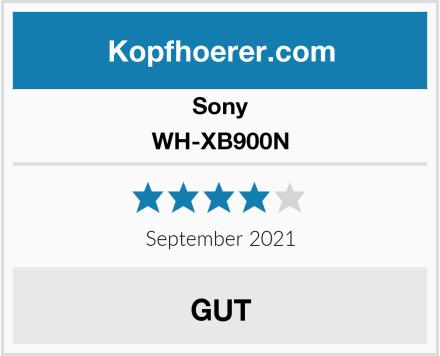 Sony WH-XB900N Test