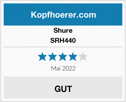 Shure SRH440 Test
