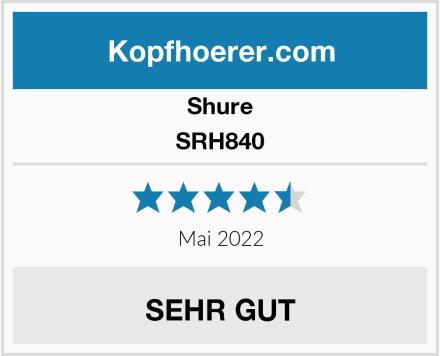 Shure SRH840 Test