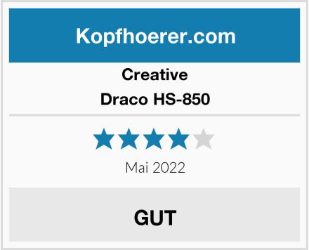 Creative Draco HS-850 Test