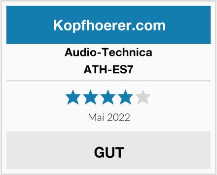 Audio-Technica ATH-ES7 Test