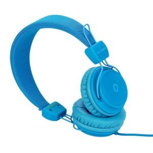 Blaue Kopfhörer