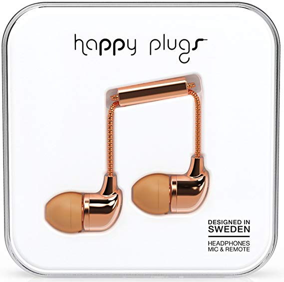 Happy Plugs In-Ear Kopfhörer mit Mikrofon