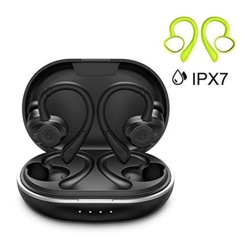 HolyHigh Bluetooth 5.0 Kabellose Ohrhörer