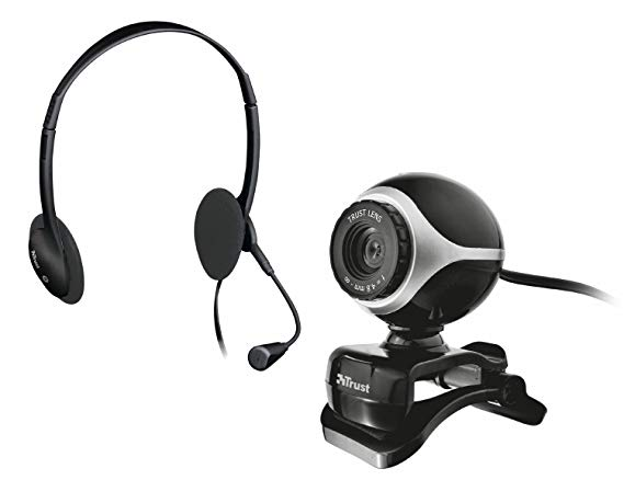 Trust Exis Chatpack Webcam + Headset