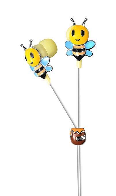 View Quest In-Ear-Kopfhörer im Bienen-Design